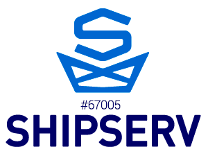 Shipserv logotype - Services from Marine Suppliers around the Globe