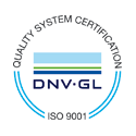 DNV ISO 9001:2008 Certifified Logotype
