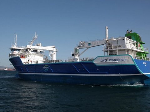 Images of LNG Bunkering - Gas Marine